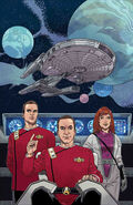 Star Trek The Next Generation - IDW 2020 solicitation cover