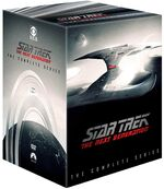 Star Trek The Next Generation - The Complete Series Region 1 DVD box