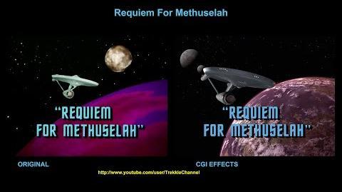 """TOS """"Requiem for Methuselah"""" - """"Requiem pour Mathusalem"""" - comparaison des effets spéciaux"""