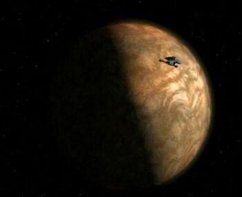 The Vaadwaur homeworld in 2376