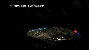 Proving Ground title card