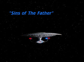 Sins of the Father title card