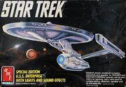 AMT Model kit 6959 USS Enterprise 1991