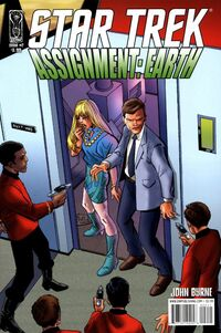 Assignment Earth issue 2 titles