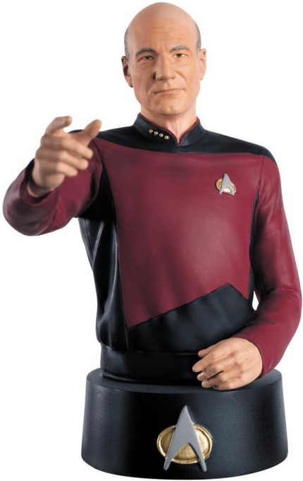 Eaglemoss Official Busts Collection Picard