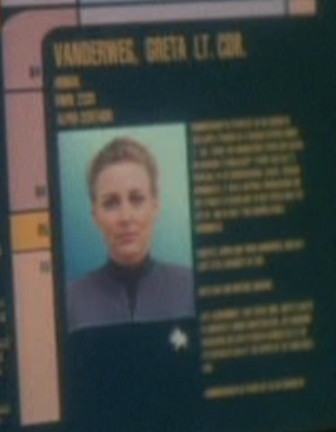 Greta Vanderweg's personnel file