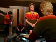 Janeway wird verhört
