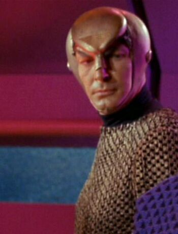 ...as Romulan scope operator