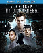 Star Trek Into Darkness Blu-ray Region A cover