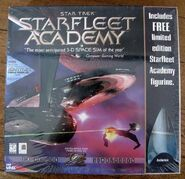 Starfleet Academy limited edition cover with figurine