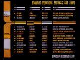 Starship mission status