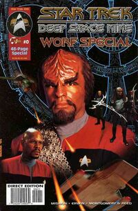 Worf special cover