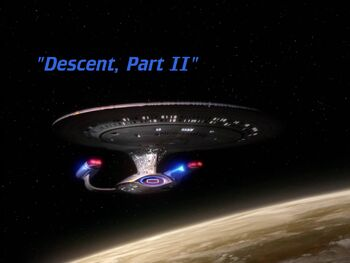 Descent, Part II title card
