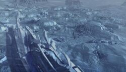 Borg sphere in the Arctic