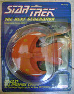 Galoob Ferengi Battleship prototype (packaged)