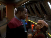 Nog fragt Sisko wegen Unterstützung