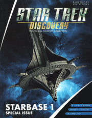 Star Trek Discovery Official Starships Collection Starbase 1 cover