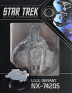 Star Trek Official Starships Collection USS Defiant repack 7