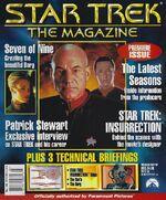 Star Trek The Magazine volume 1 issue 1 cover