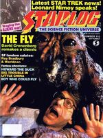Starlog issue 110 cover