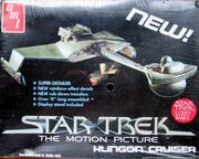 AMT Model kit S971 Klingon Battle Cruiser 1979
