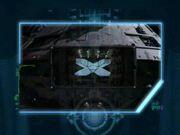 Blick durch virtuellen Bildschirm der Jemhadar