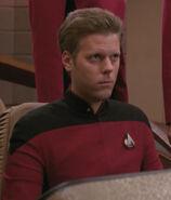 Enterprise-D male flight control officer, 2367