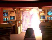 Janeway und der Doktor werden befreit