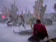 Riker faces Ferengi