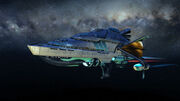 Risian luxury cruiser in Star Trek Online