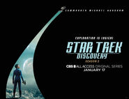 Star Trek Discovery Season 2 Michael Burnham banner