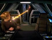 Steht überwältigt Seven im Körper von Janeway
