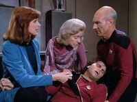 Too Short a Season - admirał umiera na Mordan IV