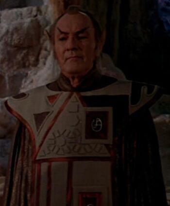 ...as a Vulcan <i>Kolinahr</i> master.