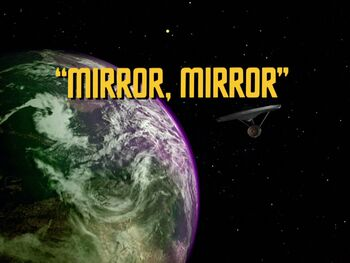 Mirror, Mirror title card