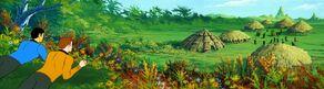 Aborigine village, Delta Theta III.jpg