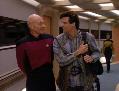 Jean-Luc Picard und Jason Vigo