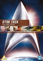 Star Trek Insurrection 2010 DVD cover Region 2