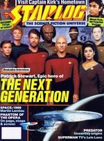 Starlog issue 139 cover