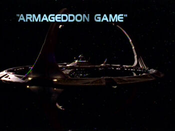 Armageddon Game title card