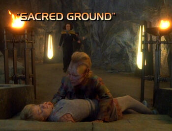 Sacred Ground title card