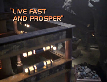 Live Fast and Prosper title card