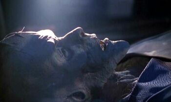 Jisa's remains, found in the 24th century