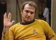 John Belushi, SNL Vulcan salute