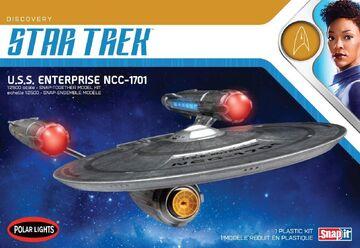 Polar Lights Model kit POL971 USS Enterprise (Discovery) 2019