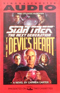 The Devil's Heart audiobook cover, US cassette edition