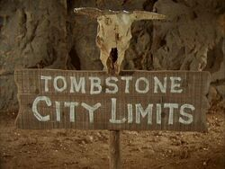 Tombstone city limits