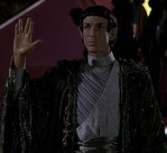 Vulcan captain, first contact