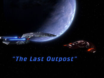 The Last Outpost title card