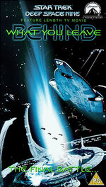 DS9 7.13 UK VHS reverse cover